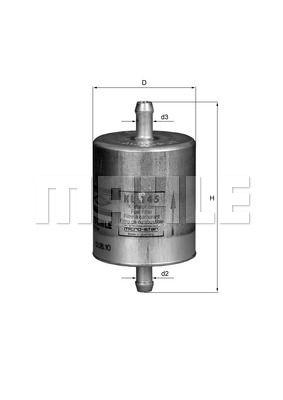 Фильтр топливный Mahle KL 145