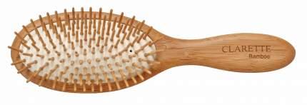 Щетка для волос CLARETTE на подушке с бамбуковыми зубьями