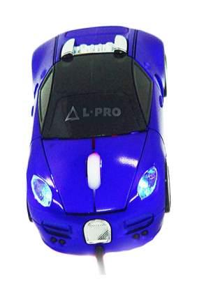 Проводная мышка L-Pro ZL-66 Bugatti Blue/Black