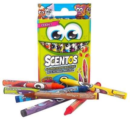 Набор ароматизированных восковых мелков Scentos Scented Crayons 40279 8 штук