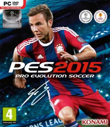 Игра Pro Evolution Soccer 2015 для PC