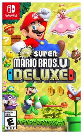 Игра для Nintendo Switch New Super Mario Bros U Deluxe
