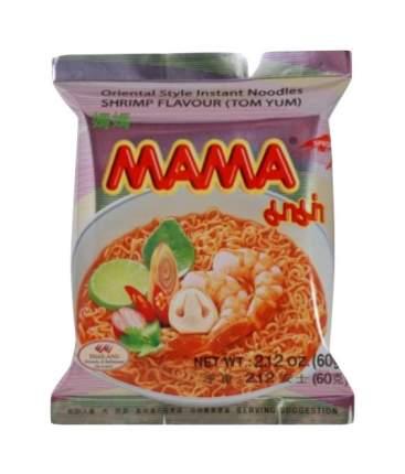 Лапша Mama тайская быстрого приготовления со вкусом креветки том-ям 60 г