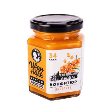 Конфитюр низкокалорийный без сахара Иван Поле облепиха 180 г