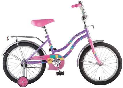Двухколесный велосипед Novatrack Tetris 20'' Фиолетовый
