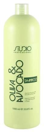 Шампунь Kapous Professional С маслами авокадо и оливы 1000 мл