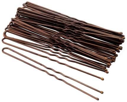 Набор шпилек для волос Гурмандиз Коричневый 7,5 см
