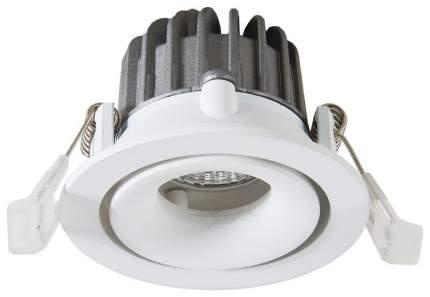 Встраиваемый точечный светодиодный светильник Arte Lamp Apertura A3307PL-1WH