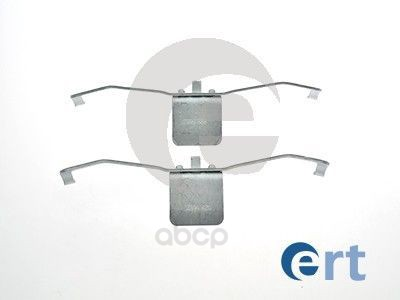 Комплект монтажный тормозных колодок Ert для Audi A6 2.4 quattro/Renault Laguna -11 420046