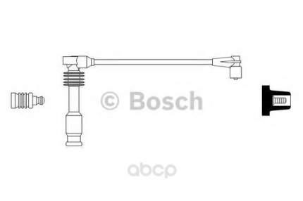 Провод высоковольтный opel astra 1.8-0.2 93-98 Bosch 0986356256