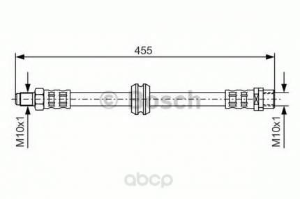 Шланг тормозной Bosch 1987476444