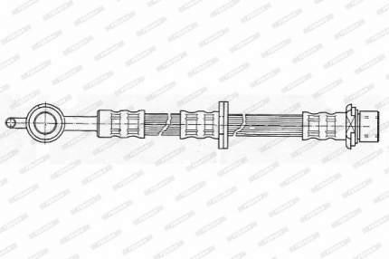 Шланг тормозной FERODO FHY2333