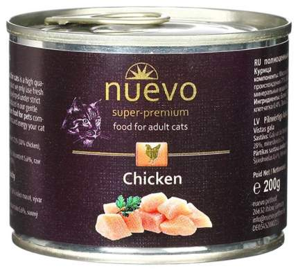 Консервы для кошек Nuevo Курица 200 г