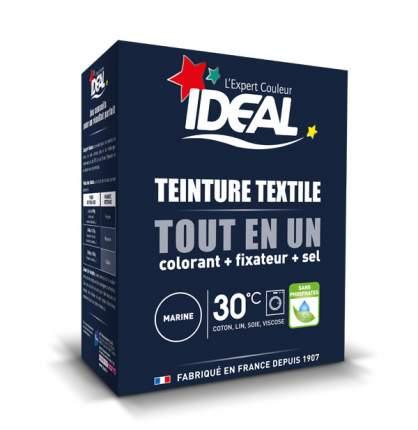 Краска для одежды и тканей Ideal MAXI Все в Одном темно-синяя, 350 г