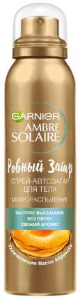 Спрей автозагар для тела Garnier Ambre Solaire Ровный загар