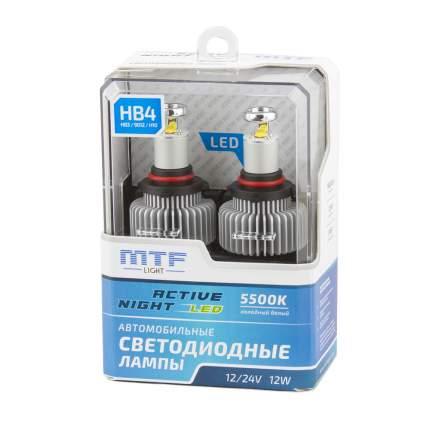Светодиодная лампа HB4 MTF-Light Active Night LED 5500К