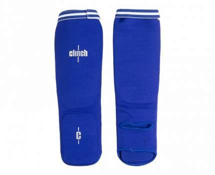 Защита голени и стопы Clinch Shin Instep Protector синяя XS