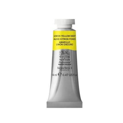 Акварель Winsor&Newton Professional лимоный желтый густой 14 мл