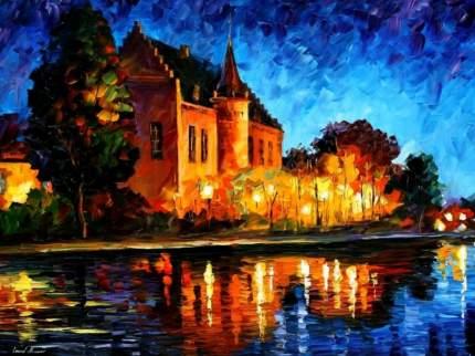Картина по номерам на картоне Color Kit Замок