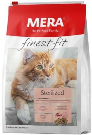 Сухой корм для кошек MERA Finest Fit Sterilized, для стерилизованных, курица, 10кг