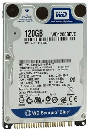 Внутренний жесткий диск Western Digital 120GB (WD1200BEVE)