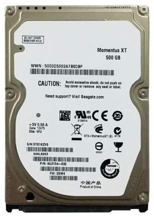 Внутренний жесткий диск Seagate Momentus XT 500GB (ST500LX003)