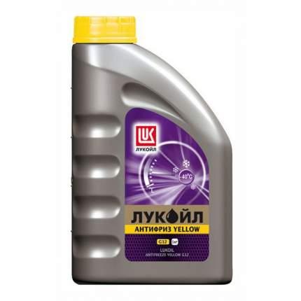 Антифриз ЛУКОЙЛ G12 Yellow, 1 кг