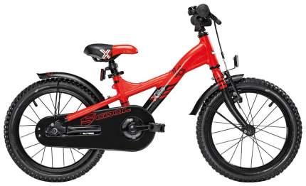Велосипед двухколесный Scool XXlite 16 alloy Красный