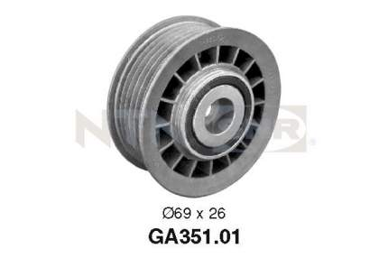 Ролик обводной приводного ремня SNR GA351.01