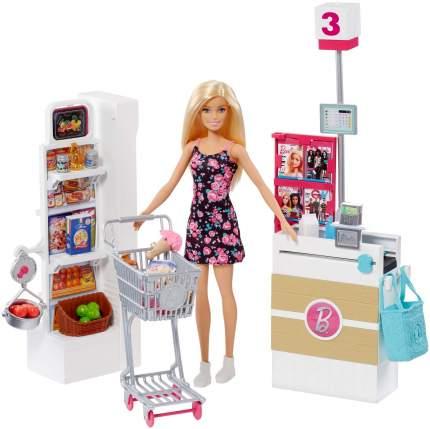 Набор игровой Barbie Супермаркет