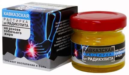Растирка Кавказская Бизорюк Фабрика здоровья от радикулита 30 мл