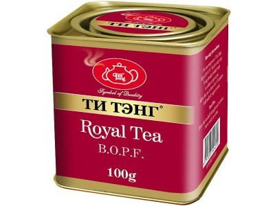 Чай весовой черный Ти Тэнг Royal Tea B.O.P.F. 100 г