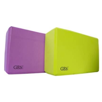 Набор блоков для йоги Gess Eva Set 093