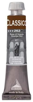 Масляная краска Maimeri Classico венецианский красный 20 мл