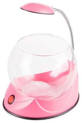 Аквариумный комплекс для рыб Hailea, бесшовный, круглый, розовый, 2,5 л