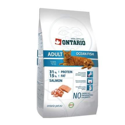 Сухой корм для кошек Ontario Adult Ocean Fish, морская рыба, 10кг