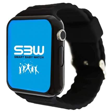 Детские смарт-часы Smart Baby Watch SBW 2 с GPS Black