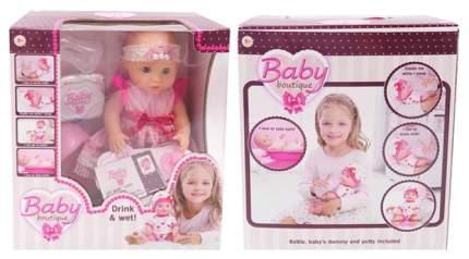 Кукла Baby boutique, пьет и писает, звуковые эффекты 25 см PT-01036