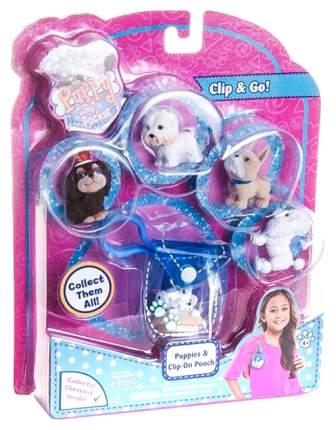 Брелок-сумочка Puppy In My Pocket Щенок 48180-T голубая