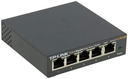 Коммутатор TP-LINK TL-SG105E Черный