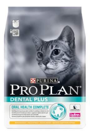Сухой корм для кошек PRO PLAN Dental Plus, здоровье полости рта, курица, 0,4кг
