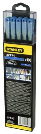 Полотно пильное Stanley Laser 1-15-559 300мм 32tpi по металлу 10шт