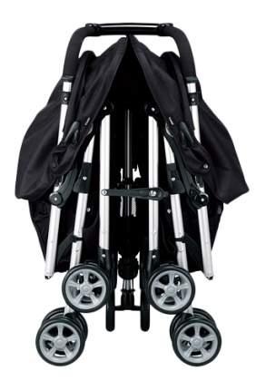 Прогулочная коляска Combi для двойни Spazio Duo черная, дождевик Combi