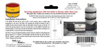 Крепление груза и багажа QUICK FIST 1шт 11050