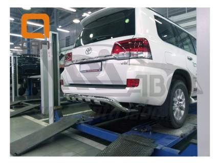 Защита заднего бампера Can Otomotiv для Toyota TOC2.57.3403