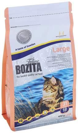 Сухой корм для кошек BOZITA Function Large, рыба, 0,4кг