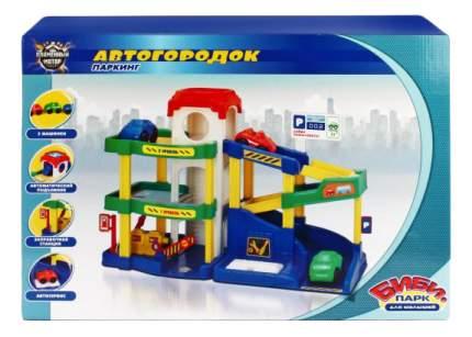 Парковка игрушечная Пламенный мотор Автогородок 87528