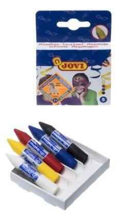 Краски для лица JOVI Грим-стик 5 цветов