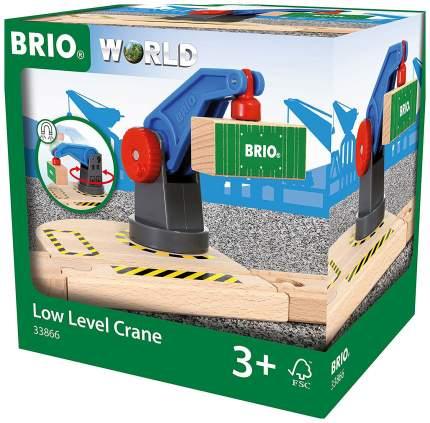 Объекты железной дороги Brio Подъемный кран железной дороги 33866