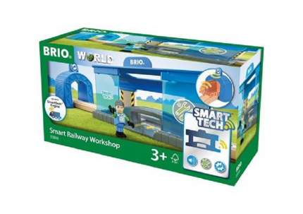 Игровой набор BRIO Вагоноремонтная мастерская Smart Tech (33918)